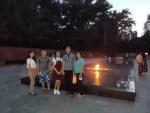 Китайские студенты, изучающие русский язык, прогулялись по вечерней Алма-Ате