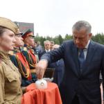 Землю с Невского пятачка привезут в Минск в ходе акции «Во славу общей Победы»