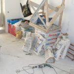 Латвийцы в восторге от способа, как информировать соседей о ремонте