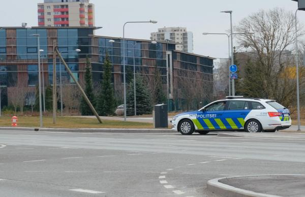 Эстонской полицией задержан  за сутки 31 нетрезвый водитель