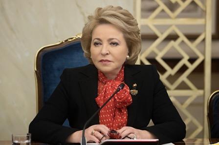 Матвиенко прокомментировала вопрос о включении ДНР и ЛНР в состав России