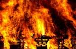 В Тартуском уезде при пожаре в бане погиб мужчина