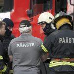 В Тырва проходят профессиональные соревнования спасателей