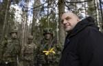 Луйк считает важным присутствие американских военных в Европе