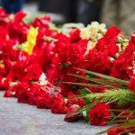 В Нарве перезахоронили останки красноармейцев, обнаруженных при поисковых работах