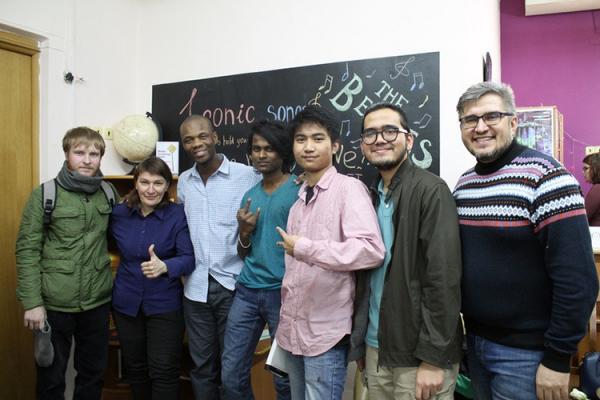 Разговорный клуб «Русский без границ» для иностранцев заработал в Челябинске