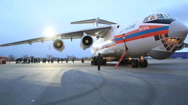Российские военные обработали улицы киргизского города в рамках борьбы с коронавирусом