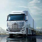 Hyundai выпустил на дороги грузовики на водородном топливе