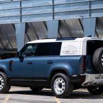 Land Rover Defender превратился в коммерческий фургон-внедорожник