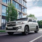 Toyota Land Cruiser 200 в топовой комплектации защитили от угона