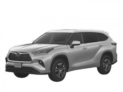 В России запатентовали кроссовер Toyota Highlander четвертого поколения