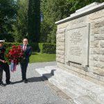 Мемориал советским воинам открыт в Эстонии после реконструкции