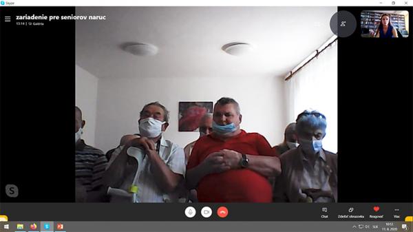Онлайн-встречу с пенсионерами провели в Прешове