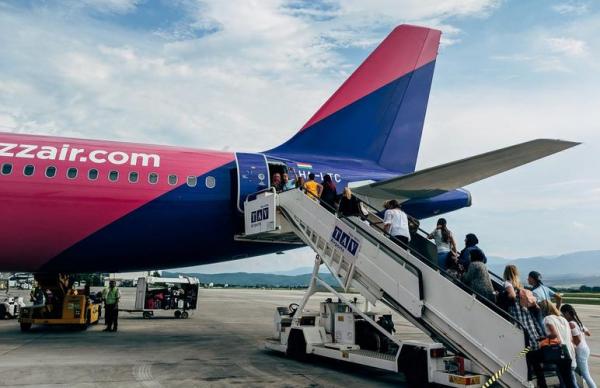 Рейсы Wizz Air Украина – Эстония продержались всего 1 день