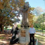 В Брисбене благоустроили территорию вокруг памятника князю Владимиру