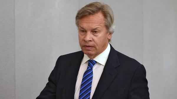 Алексей Пушков назвал абсурдным призыв польского политика ввести санкции против России из-за ситуации в Белоруссии