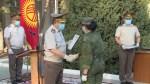На авиабазе в Киргизии проводили военных медиков из России, помогавших бороться с коронавирусом