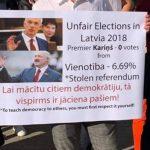 Белоруссия? За Кариньша не голосовал никто! Рижанин напомнил о демократии Латвии