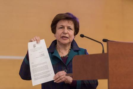 Татьяна Жданок выразила благодарность России за мирный договор с Латвией 1920 года