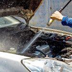 Самый дешевый, доступный и безопасный способ мойки двигателя авто