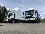 В России начались испытания необычного грузовика Daewoo Novus