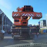 Зачем водители грузовиков поднимают противооткатный брус