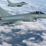 Истребители НАТО проводят тренировочные полеты над Эстонией