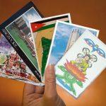 Студенты из Непала, Иордании, Сингапура и Малайзии обмениваются открытками на русском языке