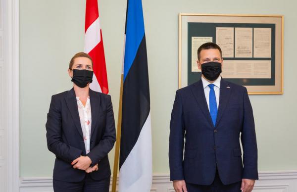 ФОТО: смотрите, как прошел визит премьера Дании в Эстонию