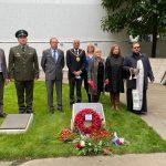 Мемориал советским воинам открыли в Манчестере