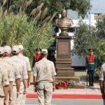 В Сирии открыли памятник Герою России, погибшему под Пальмирой