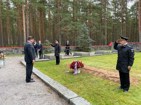 В Финляндии перезахоронили останки советских воинов