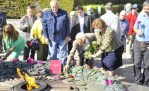 На Украине почтили память советских солдат