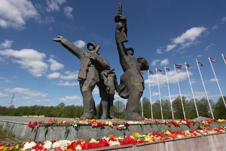 В Латвии стартовала онлайн-эстафета в честь годовщины освобождения Риги от фашизма