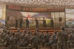 Артисты Южного военного округа спели «Катюшу» для китайских военнослужащих