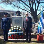 Бюст Юрия Гагарина установили в Уругвае