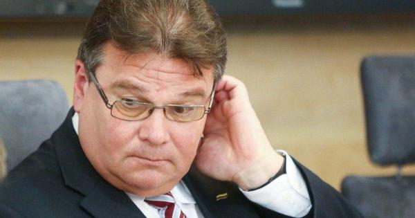 Л. Линкявичюс обсудил с конгрессменом США ситуацию в Беларуси