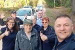Пенсионер написал трогательное письмо полиции, спасшей его в лесу