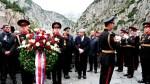 Годовщину перехода Суворова через Альпы отметили в Швейцарии