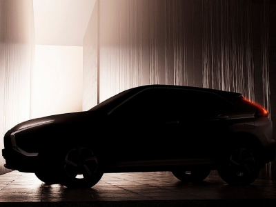 Опубликовано первое фото обновленного кроссовера Mitsubishi Eclipse Cross
