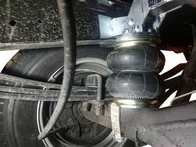 Почему стоит перевести легкий грузовик на пневмоподвеску