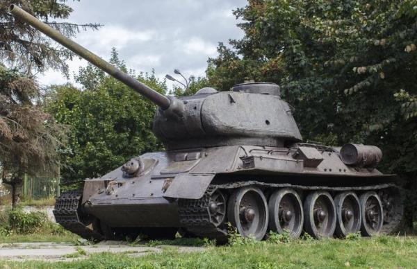 Легендарный танк T-34 вернется в эстонский музей после ремонта