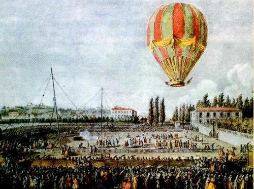 217 лет назад Москва впервые увидела полёт воздушного шара