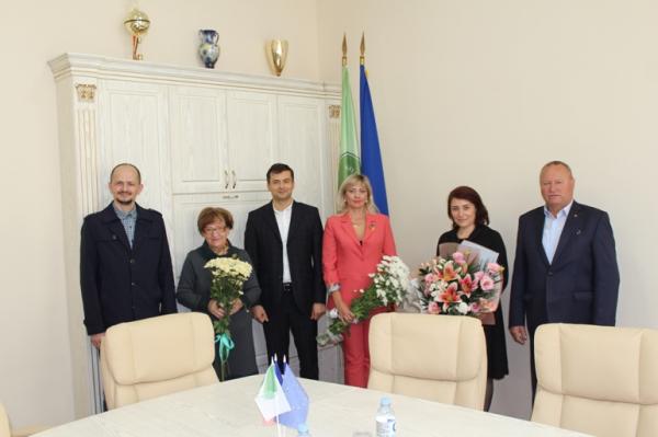 В молдавских Бельцах отметили 75-летие университета