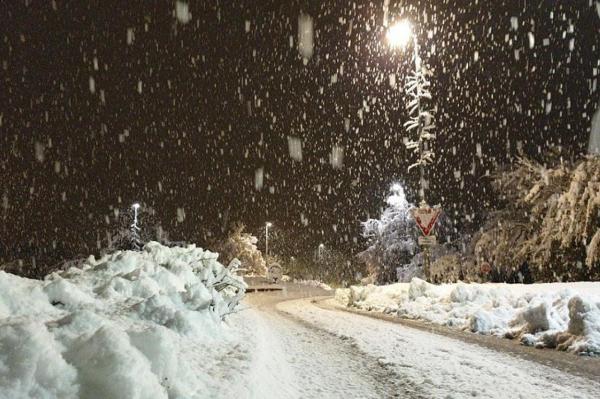 На следующей неделе в Латвии ожидаются сильные снегопады