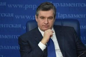 По мнению Слуцкого, Совет Европы обратит внимание на водную блокаду Крыма