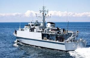 Тральщики обнаружили в акватории Эстонии 20 мин