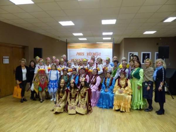 Культура национальных общин г.Клайпеда представлена жителям Гаргждай