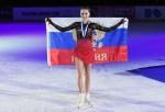 Алина Загитова получила 1001 розу от фаната