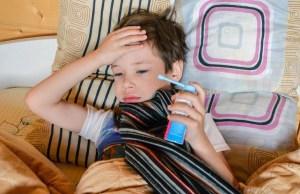 Дети составили треть заразившихся ОРВИ
